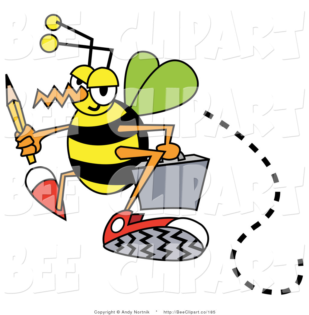 Busy clipart free clipart royalty free stock Vector Clip Art of a Busy Bee | Clipart Panda - Free Clipart Images clipart royalty free stock