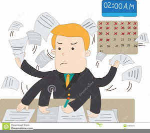 Busy clipart free png download Busy Office Worker Clipart | Free Images at Clker.com - vector clip ... png download