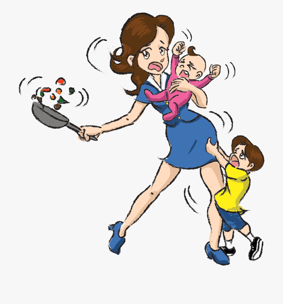 Busy clipart free jpg download Busy Mom Clipart - Transparent Mom Clipart #89116 - Free Cliparts on ... jpg download