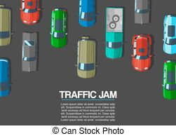 Busy road clipart jpg black and white download Auto traffic jam busy road cars drive Vector Clipart EPS Images. 70 ... jpg black and white download
