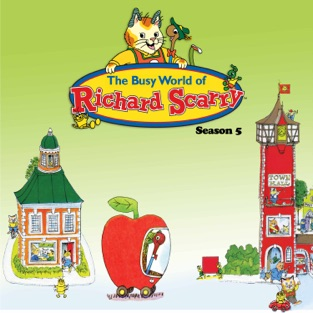 Busy world of richard scarry clipart clip art transparent download Busy World of Richard Scarry on Apple TV clip art transparent download