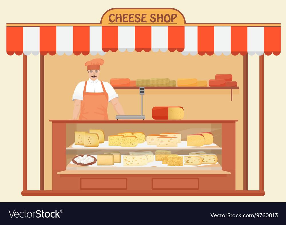 Butcher shop clipart jpg freeuse Butcher Shop Meat Seller Store shelves with jpg freeuse