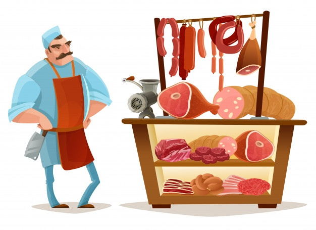 Butchery clipart graphic library download Butcher Vectors, Photos and PSD files | Free Download graphic library download