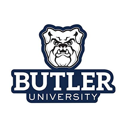 Butler bulldogs clipart picture free download Amazon.com : CollegeFanGear Butler Small Decal \'Butler University ... picture free download