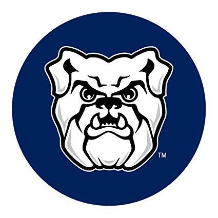 Butler bulldogs clipart vector Amazon.com: Racing Reflections Butler Bulldogs Magnet RR 4\