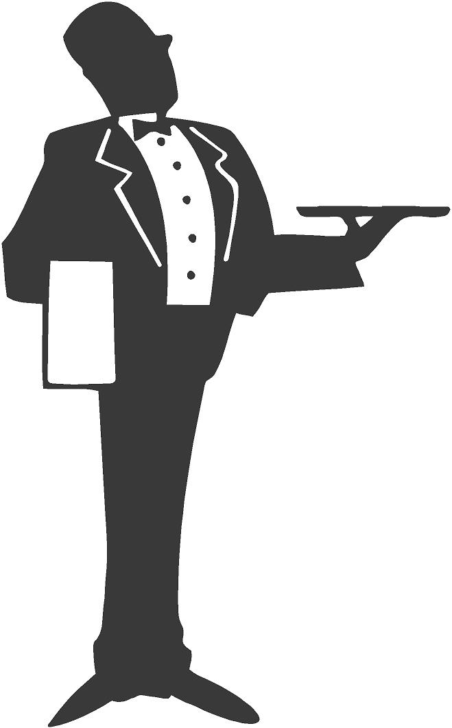 Butler clipart image royalty free library Butler Tray Cliparts - Cliparts Zone image royalty free library