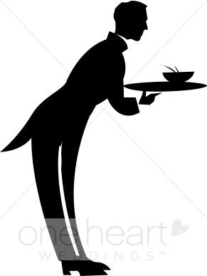 Butler clipart jpg library library Clipart Butler | Wedding Food Clipart | MB\'s | Food clipart, Butler ... jpg library library