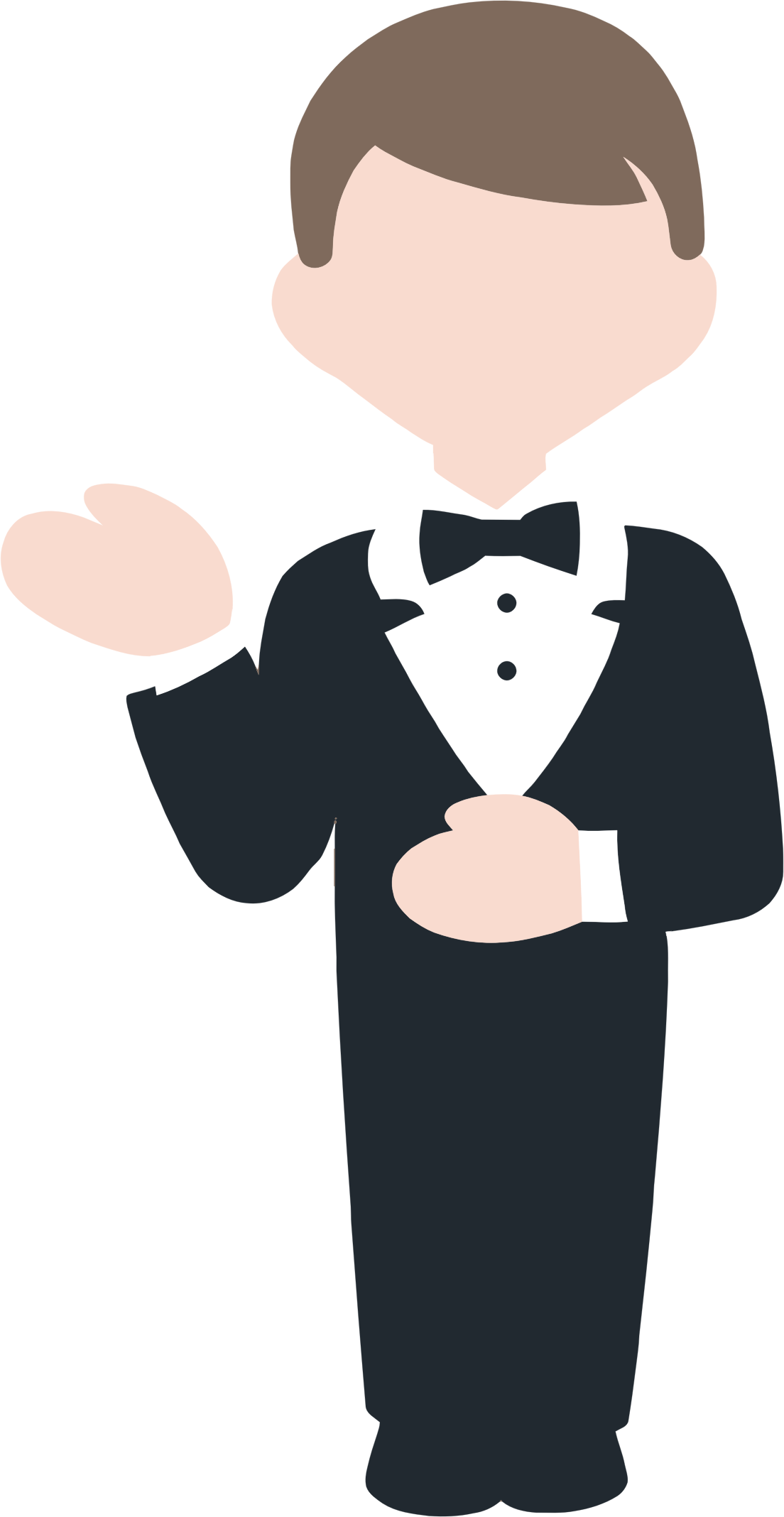 Butler clipart picture transparent Butler cartoon clipart images gallery for free download | MyReal ... picture transparent