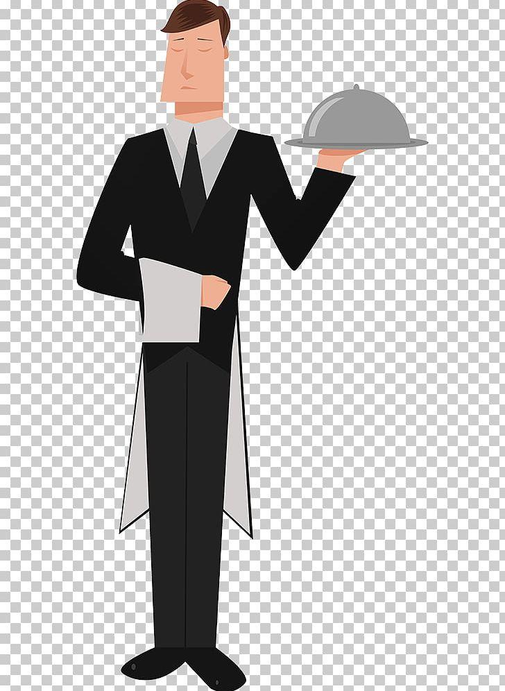 Butler clipart clip art Butler Tray PNG, Clipart, Academic Dress, Angle, Butler, Cartoon ... clip art