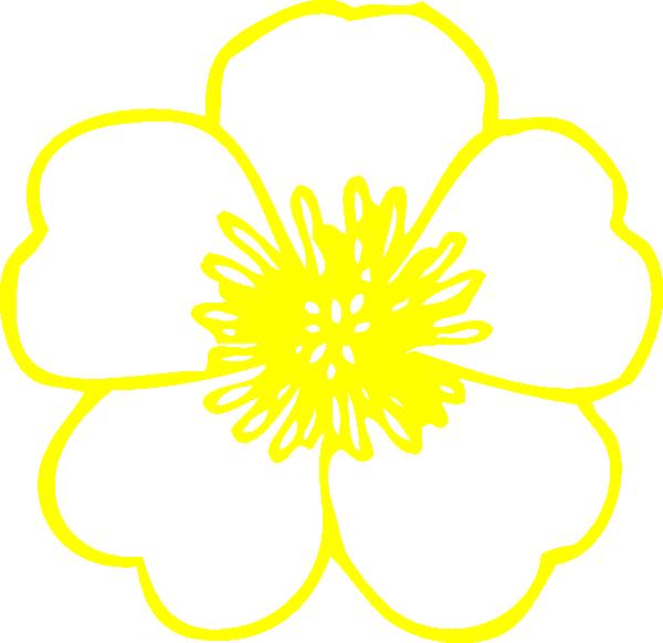 Buttercup flower clipart clip Yellow Buttercup Flower Clip Art at Clker.com - vector clip art ... clip