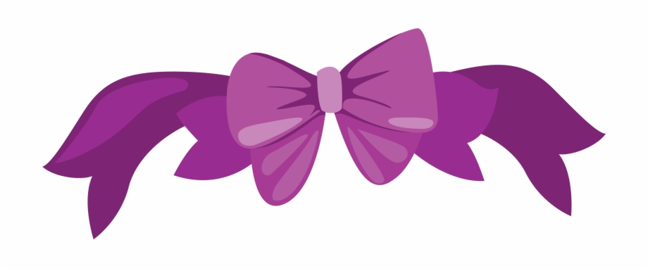 Butterflies clipart with purple ribbons image transparent download Butterfly Purple Ribbon Clip Art - Butterfly, Transparent Png ... image transparent download