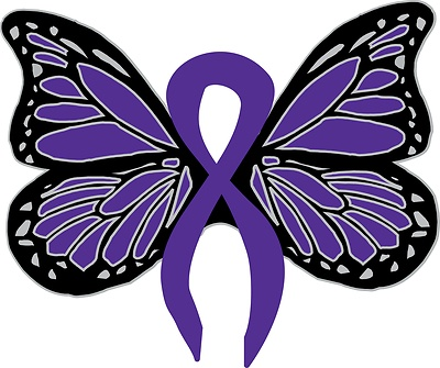 Butterflies clipart with purple ribbons picture library download Ribbon Butterfly Cliparts 21 - 400 X 335 - Making-The-Web.com picture library download