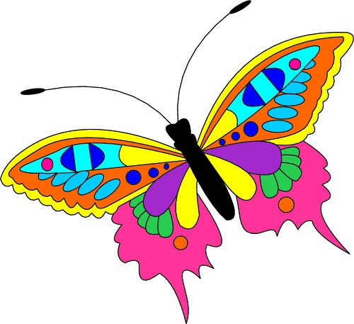 Butterflies cliparts banner freeuse stock Free Butterflies Cliparts, Download Free Clip Art, Free Clip Art on ... banner freeuse stock
