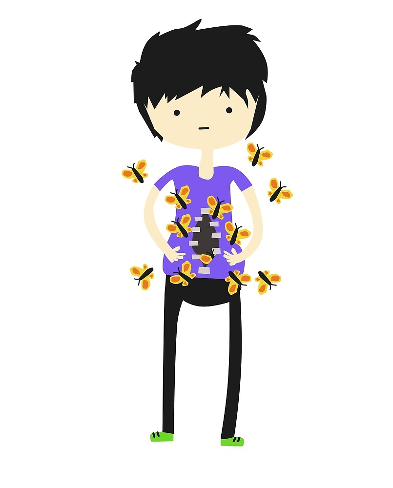 Butterflies in my stomach clipart image free library Butterflies in my stomach\