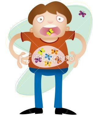 Butterflies in my stomach clipart clip art royalty free download butterflies in your stomach .. | Idioms | Weird facts, You never ... clip art royalty free download