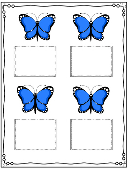 Butterflies in my stomach clipart image freeuse download Butterflies in My Belly ANXIETY Coping Activity image freeuse download