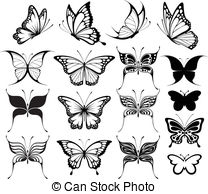 Butterflies pictures from clipart png freeuse stock Butterfly Stock Illustrations. 113,874 Butterfly clip art images ... png freeuse stock
