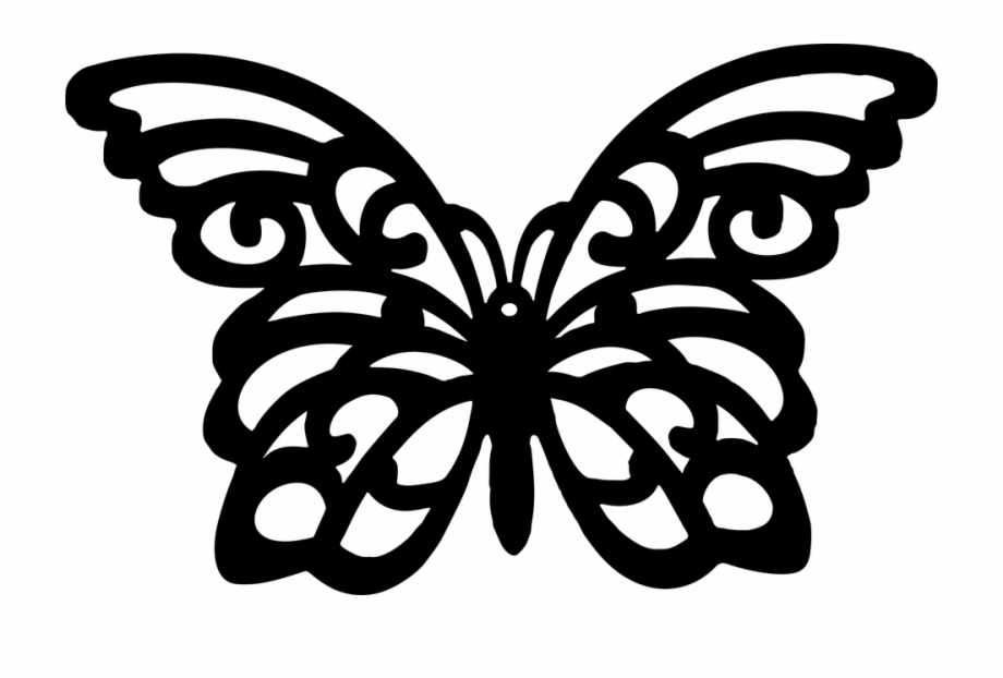 Butterflies silhouette clipart free image royalty free library Silhouettes Clipart Flying Butterfly - Butterfly Svg Free File Free ... image royalty free library