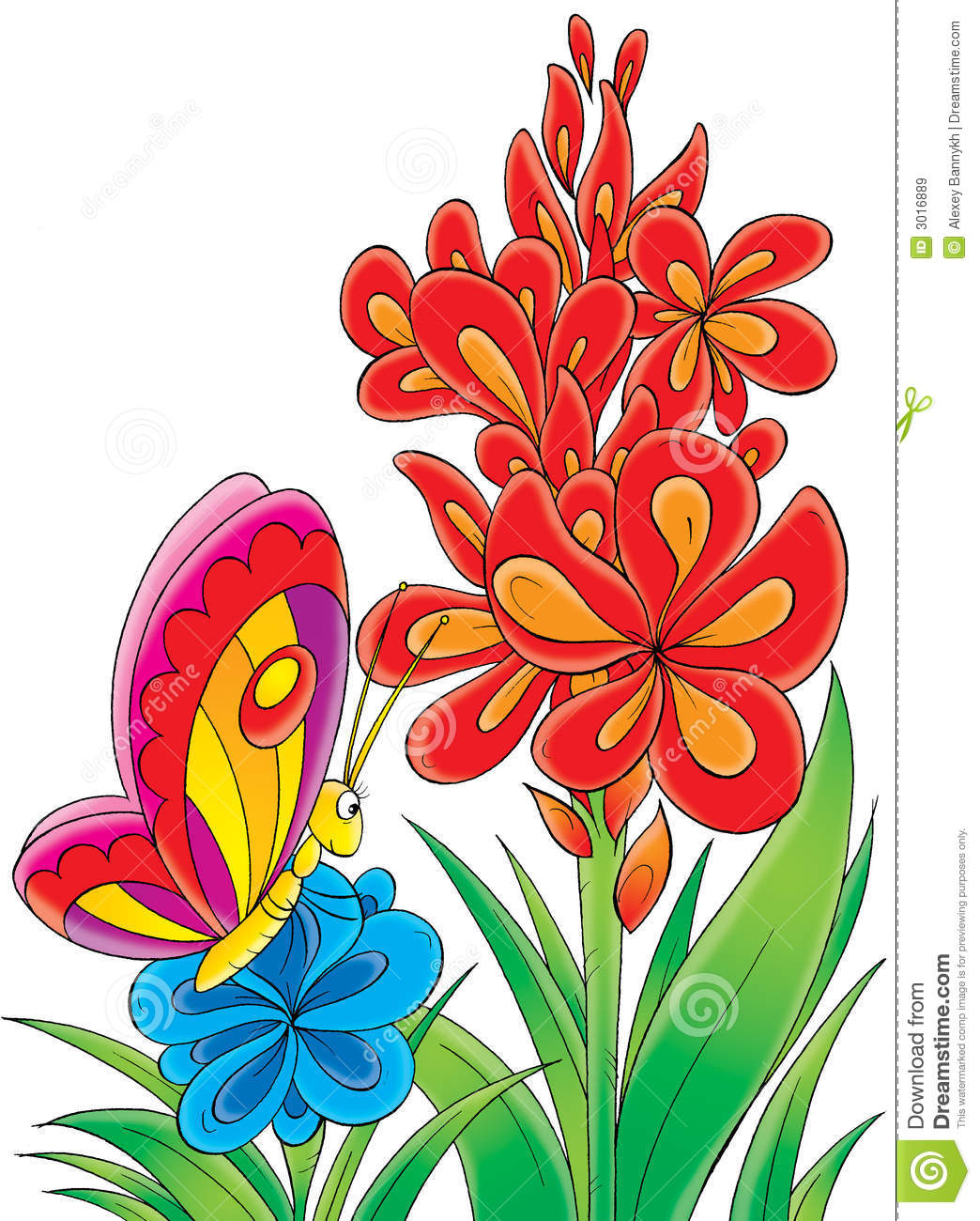 Butterfly and flowers clipart png library Butterfly on flower clipart - ClipartFest png library