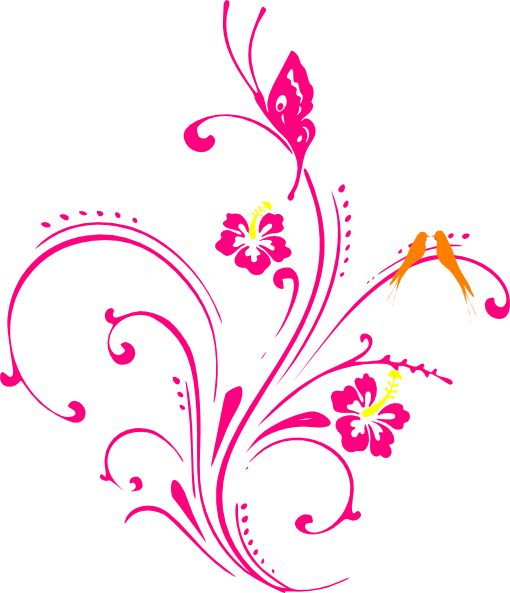 Butterfly and flowers clipart free 17 Best images about Vinyl on Pinterest | Free clipart images ... free