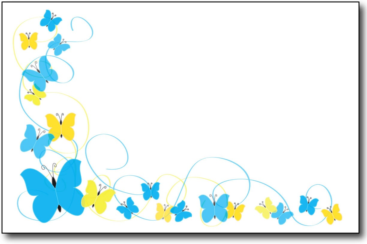 Butterfly clipart design card vector download Free Butterfly Borders, Download Free Clip Art, Free Clip Art on ... vector download