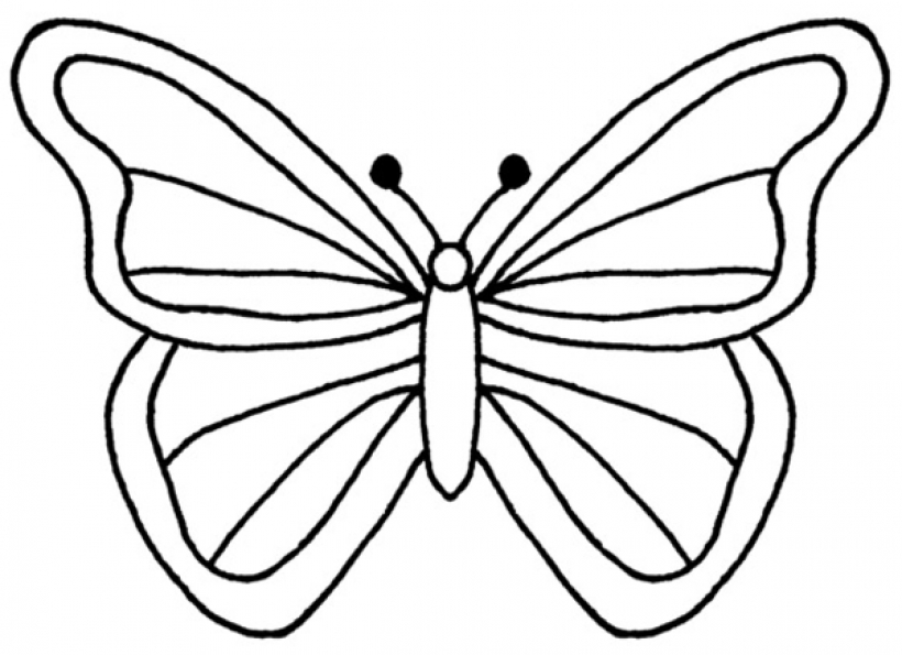 Line butterfly clipart banner download Butterflies Clipart Black And White | Free download best Butterflies ... banner download