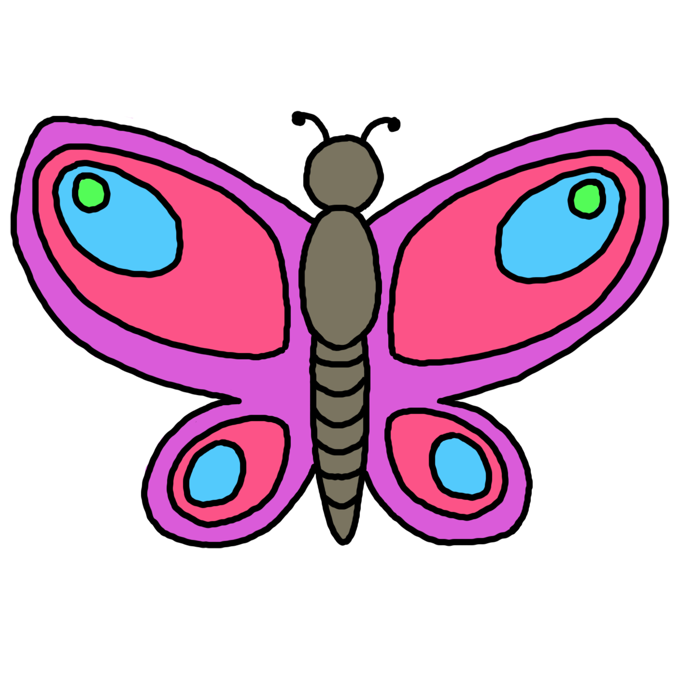 Free clipart butterfly images graphic free download Butterfly Clipart | Clipart Panda - Free Clipart Images graphic free download