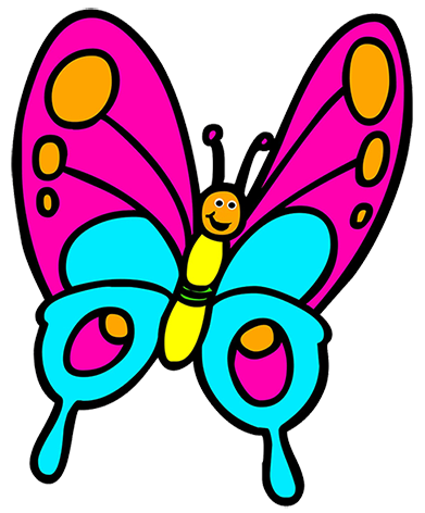 Butterfly clipart clipart vector stock Butterfly Clipart vector stock