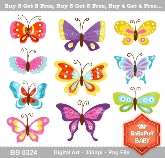 Butterfly clipart for commercial use stock Commercial use butterfly clipart - ClipartFest stock