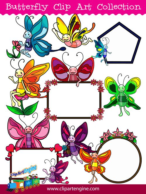 Butterfly clipart for commercial use jpg black and white download Free Butterfly Clip Art for Commercial Use – Clipart Free Download jpg black and white download