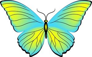 Butterfly clipart free use clip art transparent library Yellow Butterfly Clipart | Clipart Panda - Free Clipart Images ... clip art transparent library