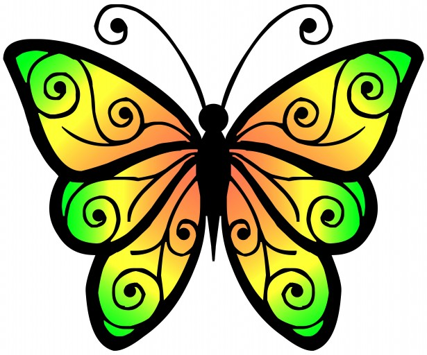 Butterfly pics clipart image black and white stock Free Images For Butterflies, Download Free Clip Art, Free Clip Art ... image black and white stock