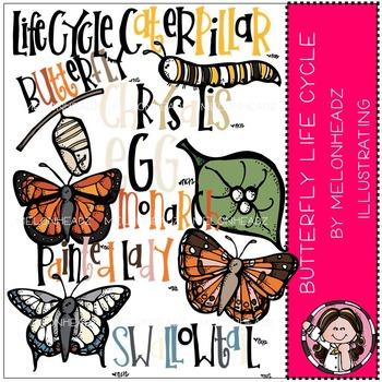 Butterfly clipart melonheadz clip art freeuse stock Butterfly life cycle clip art- by Melonheadz clip art freeuse stock