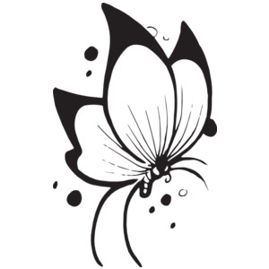 Butterfly flying clipart black and white picture library download Butterfly black and white flying butterfly clipart black and white ... picture library download
