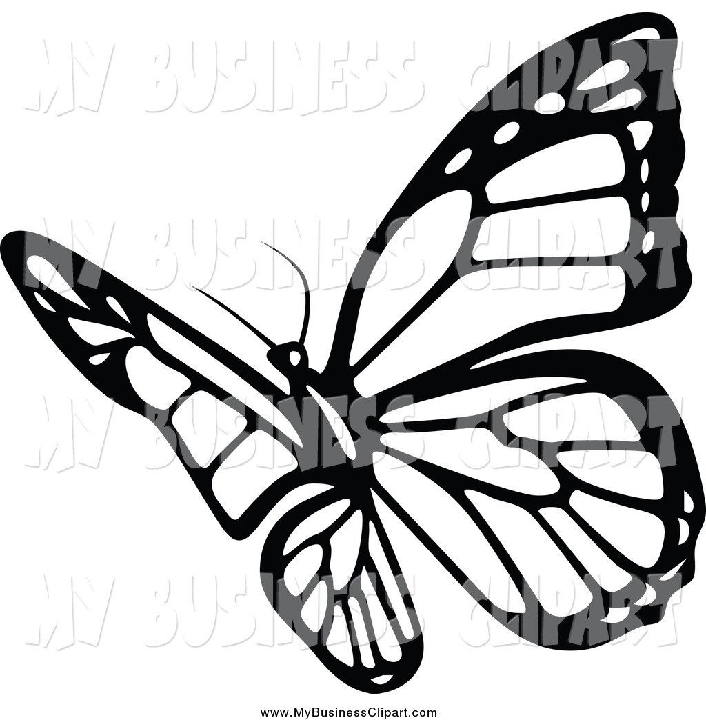 Butterfly flying clipart black and white graphic library Butterfly flying clipart black and white 6 » Clipart Portal graphic library