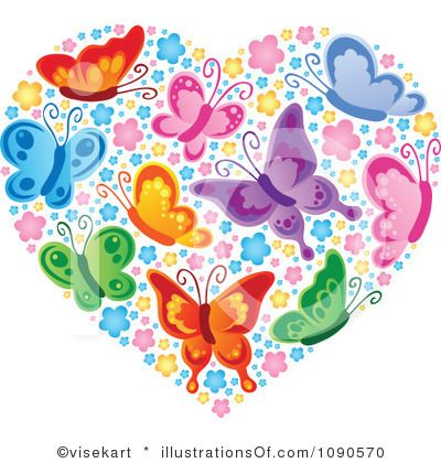 Butterfly hearts clipart png black and white Top 25 ideas about CLIP ART - HEARTS - CLIPART on Pinterest png black and white