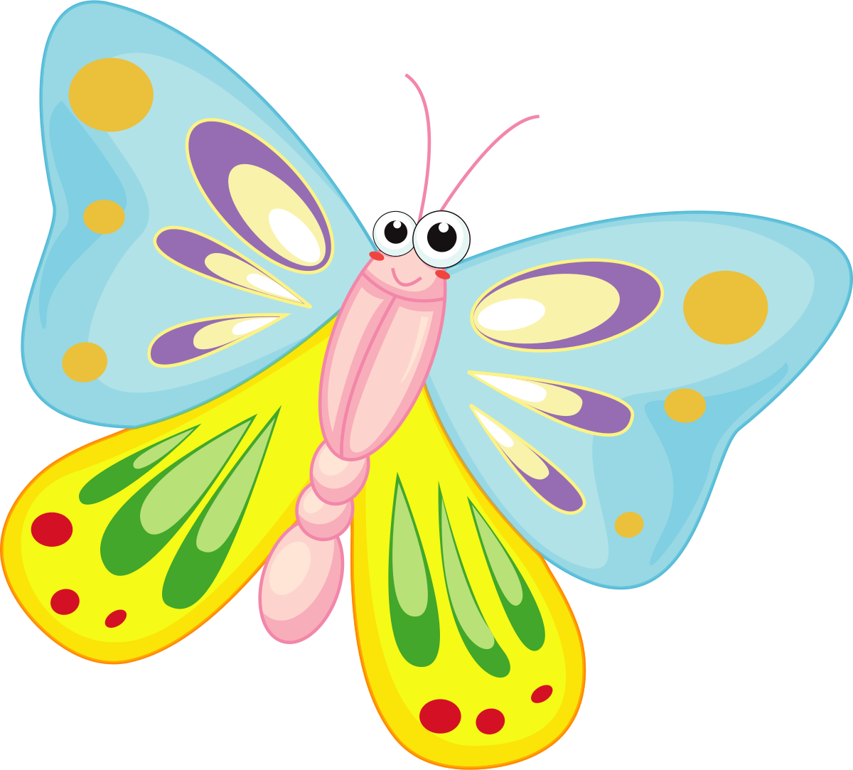 Butterfly pics clipart vector library library Free Butterfly Clipart | Free download best Free Butterfly Clipart ... vector library library