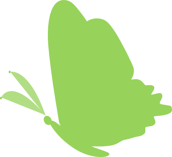 Butterfly tree clipart banner freeuse library Green.butterfly Clip Art at Clker.com - vector clip art online ... banner freeuse library