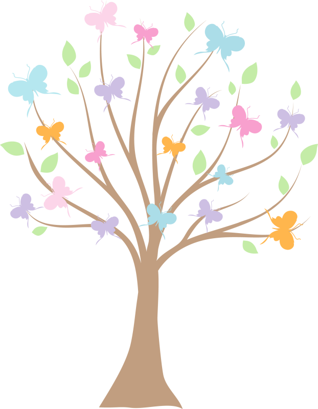 Butterfly tree clipart clipart freeuse library Related image   Imagenes png   Pinterest   Clip art, Room mom and ... clipart freeuse library