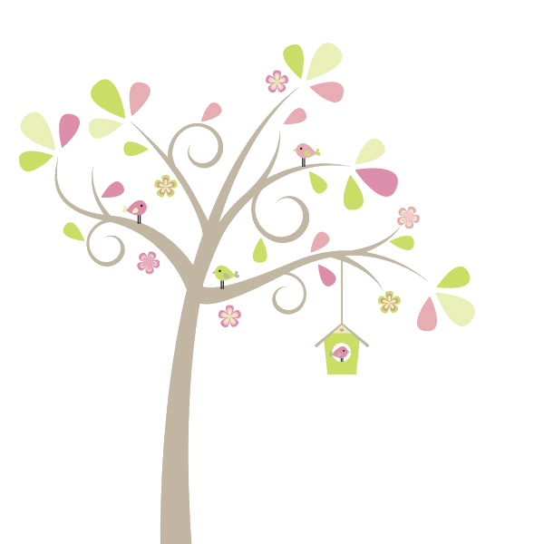 Cute tree clipart black and white download Cute Tree PNG by HanaBell1 on DeviantArt black and white download