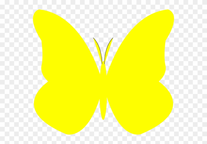 Butterfly yellow clipart free download Yellow Butterfly Clipart - Png Download (#1098295) - PinClipart free download