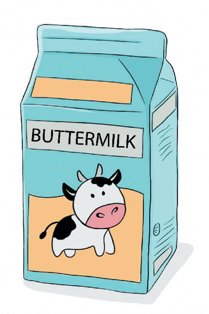 Buttermilk clipart graphic freeuse library Pantry hacks: Buttermilk - Food and Home Entertaining Magazine graphic freeuse library