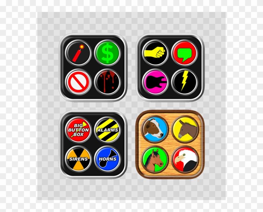 Button box clipart clip download Big Button Box Bundle On The App Store Clipart (#2358046) - PinClipart clip download