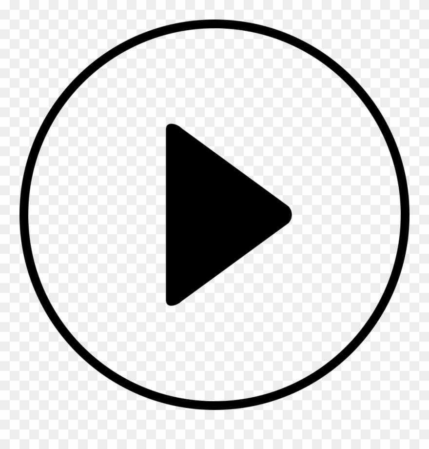 Play white clipart icon svg free download Free Music Icons - Play Button Icon Minimalist Clipart (#2172073 ... svg free download