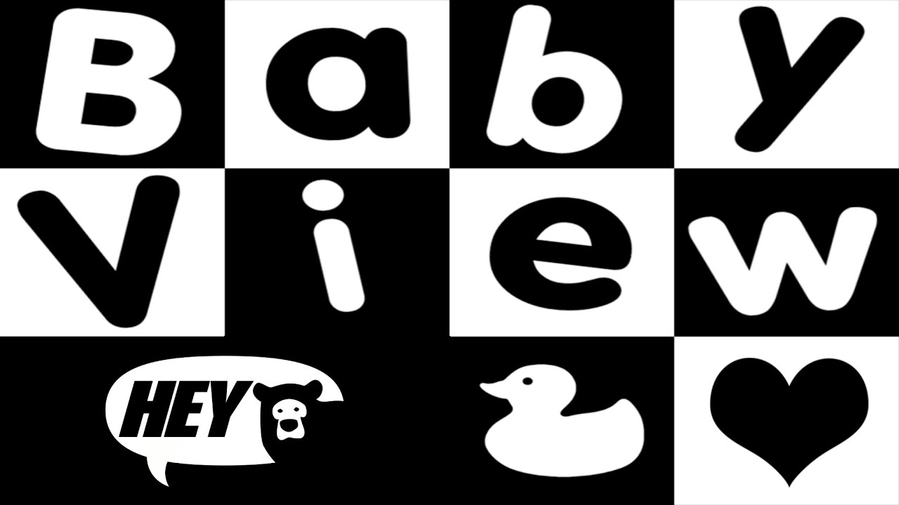 Things that start with d clipart black and white banner royalty free Baby Sensory White Noise and Visual Stimulation. Soothe and relax your baby  - Fun Baby Video banner royalty free