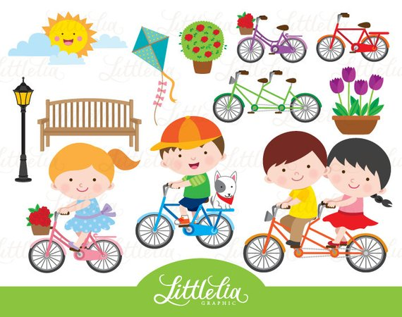 Buy and ride clipart image freeuse download Sweet ride - spring ride clipart - bicycle clipart - 15086 ... image freeuse download