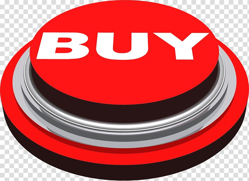 Buy button clipart png library library Red buy press button icon, Buy Press Button transparent background ... png library library