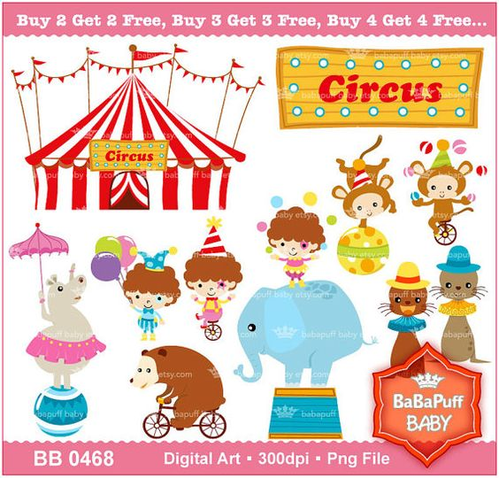 Buying clipart for commercial use picture stock Buy 2 Get 2 Free ---- Circus Clip Art Set 1, Carnival, Birthday ... picture stock