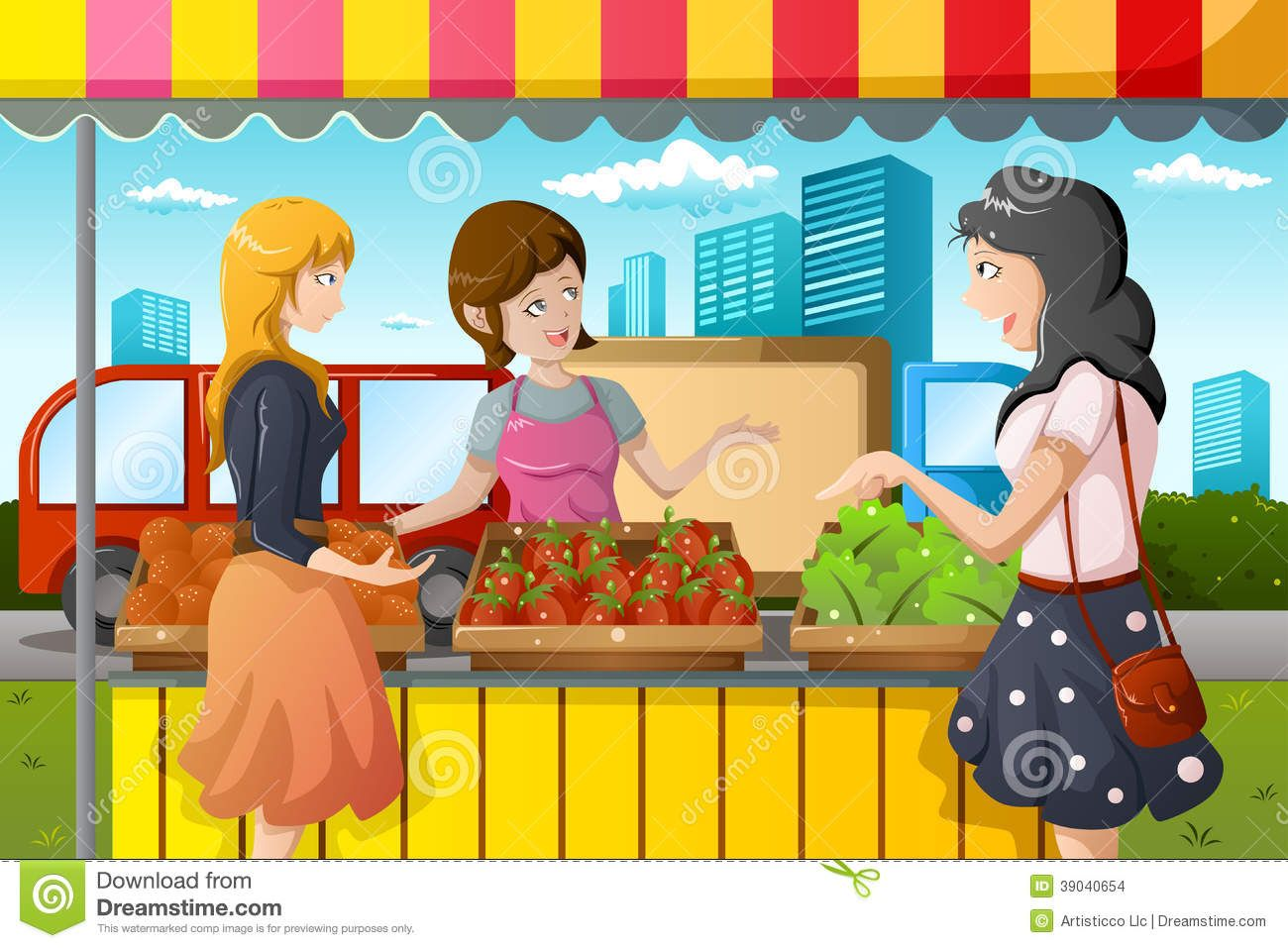 Buying fruits cliparts svg transparent library Farmers Market Stall Clipart People shopping in farmers | Making a ... svg transparent library