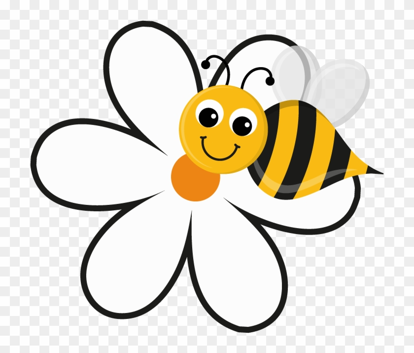 Buzzy bee clipart png black and white download Buzzy Bee Beehive Cake Ideas And Designs - Bee With Flowers Cartoon ... png black and white download
